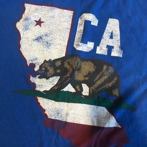 Tops - California tee shirt